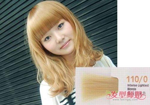 最流行的染发颜色非亚麻色莫属 亚麻色板染发颜色及名称图片加深记忆