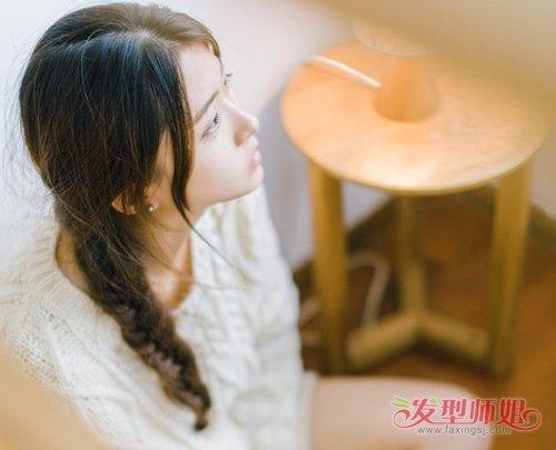 手巧的女生一根皮筋就能扎出百变发型 女生简单且流行图片