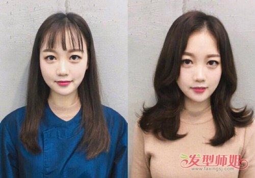 烫对了头发能提升颜值好几个高度 各脸型女生烫发前后对比图好看只需一键