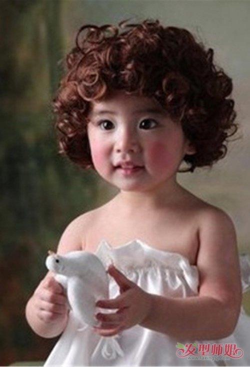 女童剪乖巧可爱短发发型图片 大女孩都适合哪些风格类型短发图片