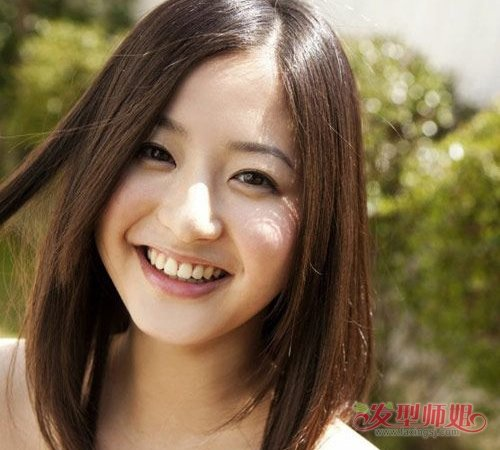 亚洲最多脸型就是胖脸了 脸胖适合什么发型多修颜多气质图片