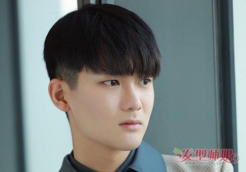 微胖圆脸男生变帅哥少不了发型的修颜 胖圆脸男生流行刘海短发安利