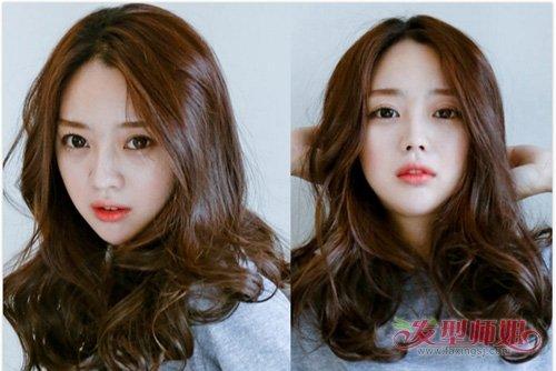 韩式卷头发平添几分女人味儿 最新卷烫发美丽张扬更吸眼发型
