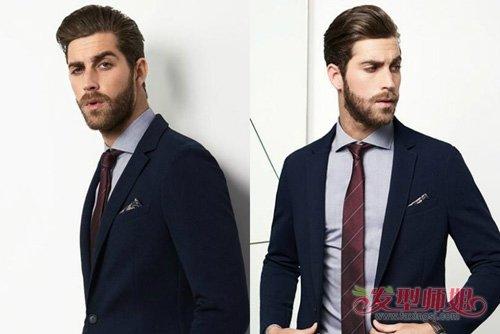 大盘点男士梳大背头发型设计 彻底改变整体形象的男生油头发