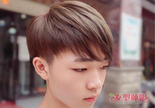 男生留多长的头发才能做拉直 推荐男生做直发发型精品图片