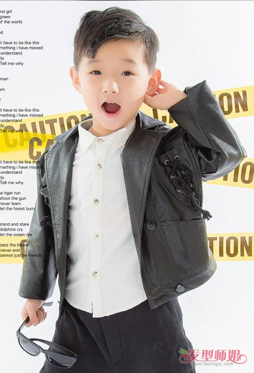 2019男童剃帅气短发发型大全 小男孩精剪短头发显呆萌图片