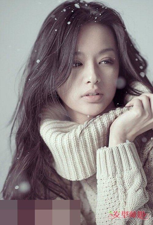 脸卷�y�`z(c9aY�_方脸女生适合修剪什么刘海好看 给你十足时尚的方脸女生卷烫发