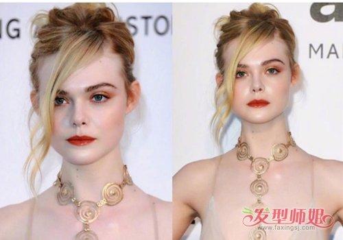 做个合格的金发小仙女发型怎么定 白皮金发梳过肩发最合适
