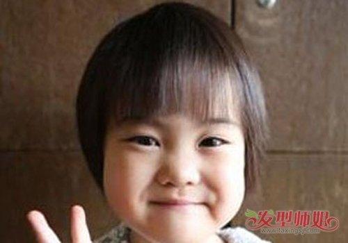 女童3-10岁蘑菇头发型图片 好的蘑菇头发型能不分年龄不分性别
