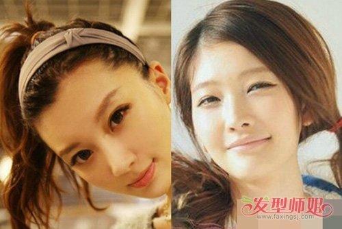 女生长头发扎日系辫提升颜值 青春率性有格调梳扎高辫发系列