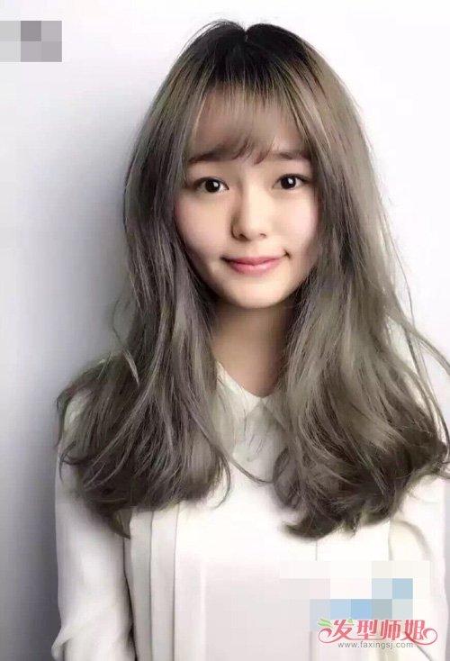 让你首选的各种卷烫头发造型大全  撩人显潮的女生卷烫发,侧分刘海图片