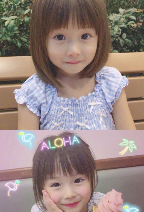 乖巧可人的小女孩 短头发造型,活泼动感款式的 小女孩发型设计.