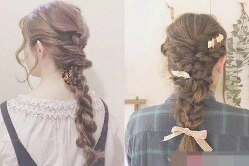 绚丽出今年最为流行的造型,百搭有美度存在的编扎头发,给人带来你意想