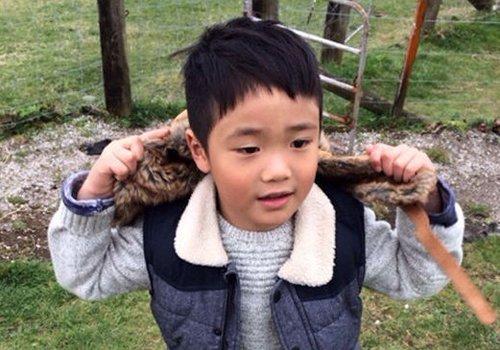 有小学男生发型图片在很放心 别人家的小学生发型这么图片