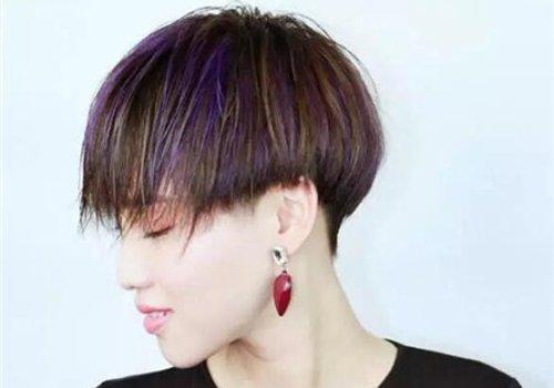 也有姿势将鬓角的头发剃掉的,女生做发型长 刘海更有效果图片