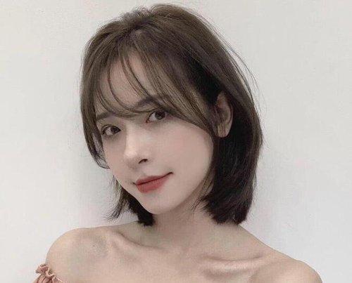 秋季大盘子脸女生适合的刘海短发造型 30+女士重新美起来的资本