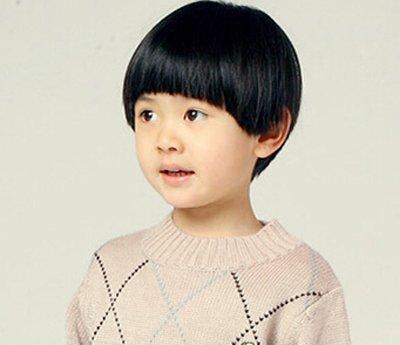 韩式可爱男生蘑菇头发型 男生蘑菇头发型扎辫子