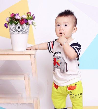 3岁男孩最流行发型短发 3岁男宝宝时尚发型图片