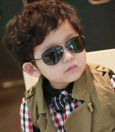3岁男孩最流行发型短发 3岁男宝宝时尚发型图片[儿童发型]-小孩子发型