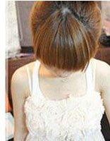 长脸型适合什么样的卷发 韩式长脸女生花卷盘发