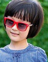 小女孩蘑菇头短发发型图片 小孩蘑菇头短发发型图片