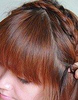 适合中短发的扎辫子发型 短发小辫子发型扎法