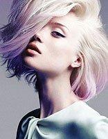 2017韩国最流行短染发型图片 女生短发烫染发型
