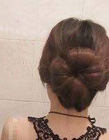 最简单的花苞头绑法图解 绑花苞头方法