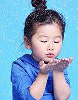 儿童苞花头长发设计头型图片 女童花苞头怎么扎