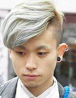 定位纹理烫男发型图 男士纹理烫发型图带颜色