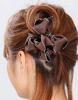 中短发直发怎样梳丸子头 短发直发怎样扎丸子头