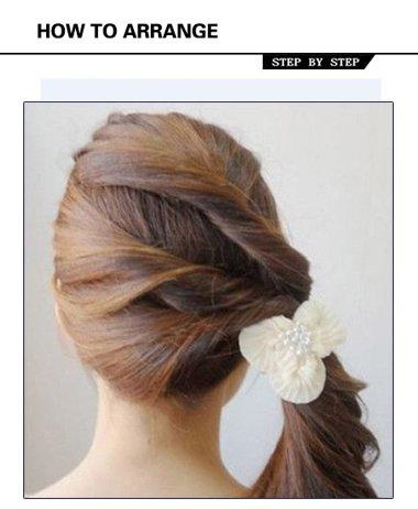 气质马尾发型扎法步骤 初中发型女生马尾辫