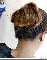 怎样梳简单的包包头 包包头扎头发的方法图解