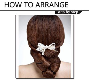 2016年新娘发型教程 好看的新娘盘发设计
