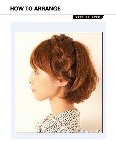 短发也可以编蝎子辫噢,下面带来2016年流行中短发蝎子辫发型扎法,手图片