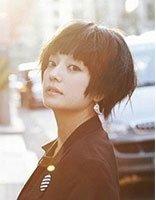 方脸直发的发型图 方脸适合的短发直发发型