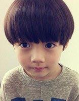 男童蘑菇头短发发型图片 男童适合的头发