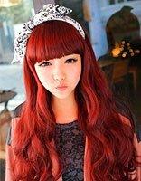 非主流刘海发型图片 非主流带刘海发型
