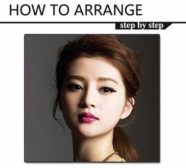 方型脸适合把头发全扎起来吗 方形脸要把头发全部扎起来怎么办