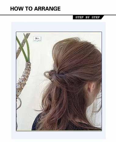 中老年妇女的发型 中老年日常发型扎法
