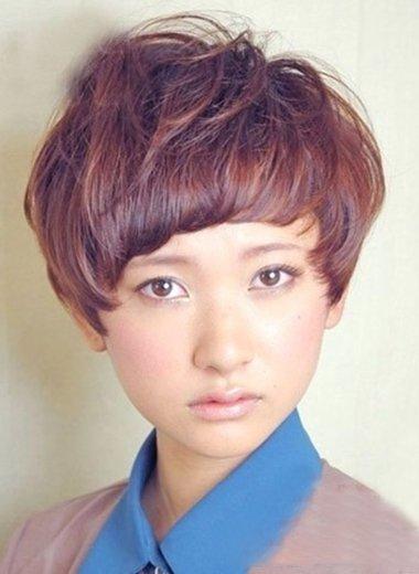 脸大的人适合什么短头发的发型 短发发型大脸图片