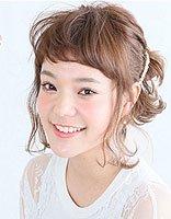 短发怎么扎非主流蓬松丸子头 好看的非主流低丸子发型