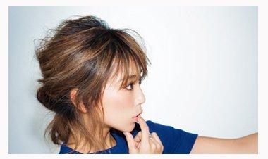 中短发盘发发型扎法 短发盘头发型步骤