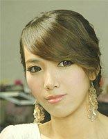 新娘简单好看的盘头发图解 简单的新娘盘发
