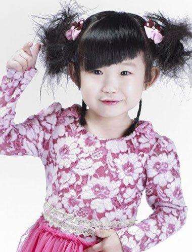 儿童发型绑扎方法_儿童发型绑扎方法图解/图片_儿童短