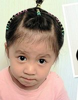 女宝宝编五角星发型图片大全 女宝宝各种编辫发型