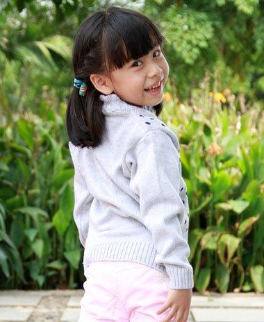 女童蜈蚣辫发型图片 儿童中短发蜈蚣辫编法
