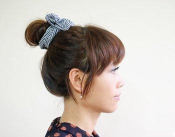 头发少怎么弄花苞头 头发少盘花苞头的技巧