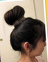 怎么样用盘发器做花苞头 花苞头用盘发器怎么盘