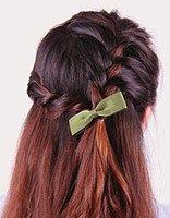 中学生编头发的步骤及图片 中学生长头发怎么编好看
